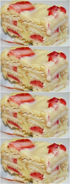 In a saucepan, put the condensed milk, the milk (set aside a little to dissolve the wheat), # recipe Cheesecakes, Paste Recipe, Banoffee, Dessert Recipes, Desserts, Easy Snacks, Cupcakes, Sweet Recipes, Mousse