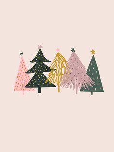 Christmas Doodles, Christmas Drawing, Christmas Love, Winter Christmas, Christmas Crafts, Christmas Design, Christmas Illustration Design, Christmas Phone Wallpaper, Christmas Aesthetic