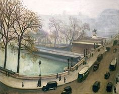 View of the River Seine, c.1935 - Albert Marquet