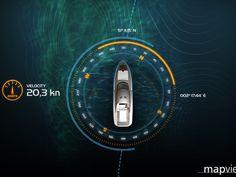 3D Boat Navigation by stereolize. GmbH , via Behance
