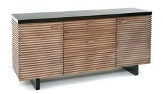 Organic Strip Consoleby Woodland Creek Furniture. Available in custom sizes, layouts and finishes.