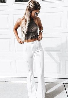 Tight ab's for cropped tops!