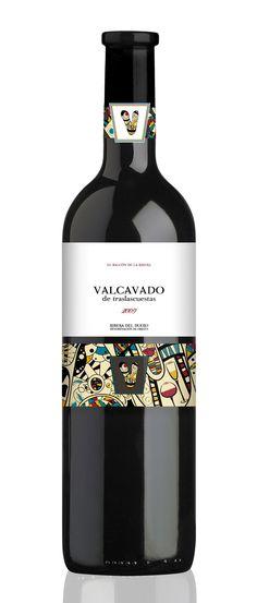 Valcavado de traslascuestas 2009 Bodegas Fernandez de Pierola DO Rueda.  Vino / Wine of Spain mxm