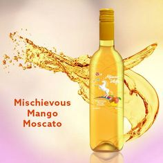 Get in a mischievous mood before the sun goes down with our Mischievous Mango Moscato ;)