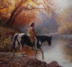 """Image detail for -Martin Grelle """"In The Stillness Of Morning"""" oil 28 ..."""