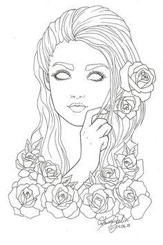 no_eyes_lines by KarriBabe on deviantART