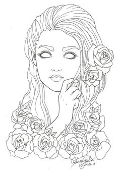 no_eyes_lines by KarriBabe.deviantart.com on @deviantART
