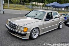 lowered+mercedes+wagon | ... Raguna Wheels. – Mercedes Benz 190E W201 on Epsilon Japan Wheels