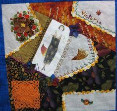 Crazy Stitcher: 2006 Round Robin Quilt Done!