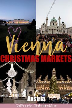 Guide to Vienna's Christmas Markets | Wien Weihnachtsmarkts | Wiener Weihnachtsmarkt | Best Christmas Markets in Vienna | Best Glühwein in Vienna | Things to do in Vienna in Winter | Family-friendly Christmas Markets in Vienna | Vienna in Winter | Vienna in December | Christmas lights in Vienna - Vienna, Austria - California Globetrotter Europe Destinations, Europe Travel Guide, Travel Guides, Christmas Destinations, Christmas Markets Europe, Christmas Travel, Holiday Travel, Christmas Vacation, Visit Austria