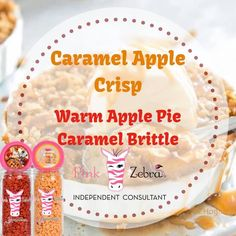 So very amazing! Caramel Apple Crisp, Sprinkles Recipe, Brittle Recipes, Pink Zebra Home, Pink Zebra Sprinkles, Mixers, Recipies, Memories, Business