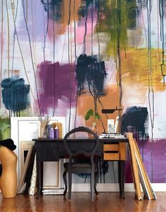 painting your walls with watercolors 25 ideas 01 home ideas