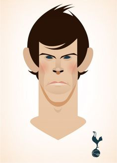 gareth bale, england, football, futbol - great bit of art, but abit Dated now..