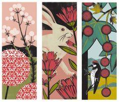 illustration+letterpress: California Flora and Fauna {illustration}