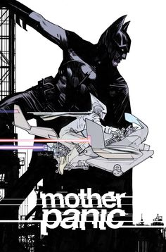 Mother Panic #1 variant by Tommy Lee Edwards #DCYoungAnimal