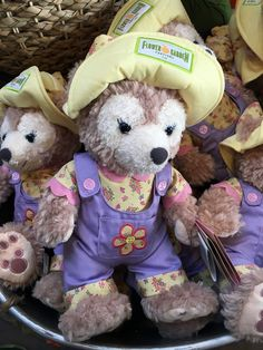 #Disney Parks Epcot Flower & Garden Festival 2016 Shellie May Plush New - Duffy from $51.95