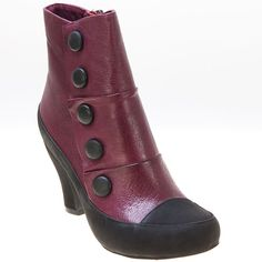 Miz Mooz boots in Wine - Bought these last week and LOVE them!  They go great with jeans and soon my skirts and tights.
