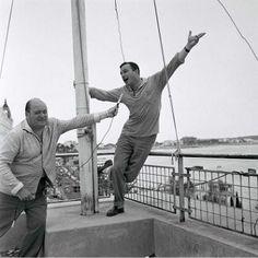 Gene Kelly in Cannes.