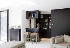 Small Space Living, Small Spaces, Living Spaces, Le Roch Hotel, Upstairs Loft, Duplex, Rustic Shabby Chic, Interior Design Kitchen, Building Design