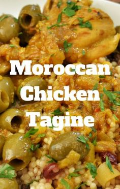 Inspired by the flavors of Morocco, Mario Batali put together Moroccan Chicken Tagine to add a unique dish to your dinner menu.