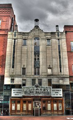 Embassy Theatre in Cumberland, Maryland reclaims a 1931 Art Deco movie house, sole-remaining entertainment edifice from bygone Queen City life, that has now become a multipurpose center for allied arts.