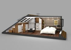 loft conversions Bildresultat fr wardrobe solutions for loft conversion Attic Bedroom Storage, Attic Master Bedroom, Attic Bedroom Designs, Loft Storage, Attic Bedrooms, Bedroom Layouts, Bedroom Loft, Dormer Bedroom, Eaves Storage