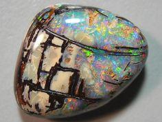 Opal with matrix