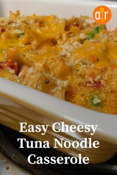 Selecting The Suitable Cheeses To Go Together With Your Oregon Wine Easy Cheesy Tuna Noodle Casserole I Love Making This Dish Tuna Noodle Casserole Recipe, Casserole Dishes, Casserole Recipes, Quick Family Dinners, Quick Easy Meals, Cream Of Celery Soup, Dinner Sides, Easy Recipes, Dinner Recipes