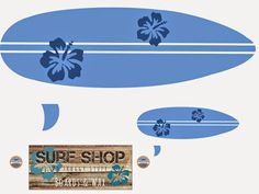 My Froggy Stuff: Surf's UP! Doll Surfboards and Stuff