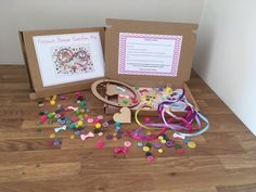 Check out our DIY craft kits for kids selection for the very best in unique or custom, handmade pieces from our shops. Craft Kits For Kids, Diy For Kids, Crafts For Kids, Dream Catcher Kit, Dream Catchers, Fall Crafts, Diy Crafts, Diy Jewelry Kit, Activity Box