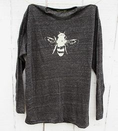 Long Sleeve Honey Bee T-Shirt by Naturwrk on Scoutmob