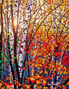 Autumn Blaze by artist Tim Packer #art