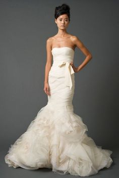 I have been watching too much say yes to the dress..but I love this dress!