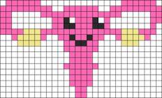 Kandi Patterns for Kandi Cuffs - Misc Pony Bead Patterns Pony Bead Patterns, Kandi Patterns, Alpha Patterns, Beading Patterns, Cross Stitch Patterns, Knitting Patterns, Perler Bead Art, Perler Beads, Beaded Cross Stitch