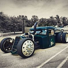 "This is what ""rat rod"" perfection looks like"