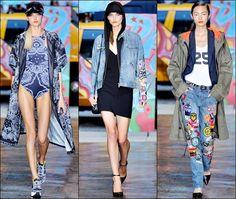 DKNY Spring Summer 2014 New York Fashion Week 04