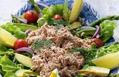 Gå ner 2-3 kg på en vecka med våra kickstartsrecept 5 2 Diet, Lchf, Cobb Salad, Detox, Food And Drink, Low Carb, Fresh, Dishes, Amelia