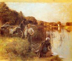 Léon Augustin L'hermitte... | Kai Fine Art