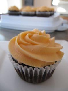 Double Orange Buttercream Cupcake Frosting