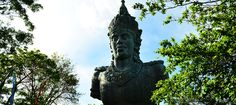 Garuda Wisnu Kencana  Garuda Wisnu Kencana (GWK) Cultural Park is a 240-ha area of cultural park located in Ungasan, Badung Regency or about 10-15 minutes driving from Bali's Ngurah Rai International Airport.