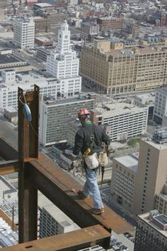 Ironworkers - another day at the office