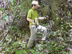 Effectively Using Hiking Poles-- good to note for your next national park hike!
