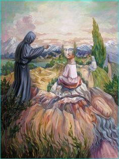 Stare at Oleg Shuplyak's painting, you may find one more illusion element that is hiding inside! Shared Stunning Illusion Paintings by Oleg Shuplyak here. Optical Illusion Paintings, Optical Illusions Pictures, Illusion Pictures, Art Optical, Optical Illusion Images, Illusion Kunst, Illusion Art, Oleg Shuplyak, One Photo