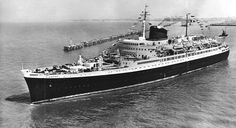 """The elegant and intimate sister ships of the French Line """"Flandre"""" & """"Antilles"""" (1952/53)"""
