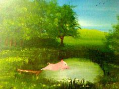 Artbygina.com '' when pigs dive...
