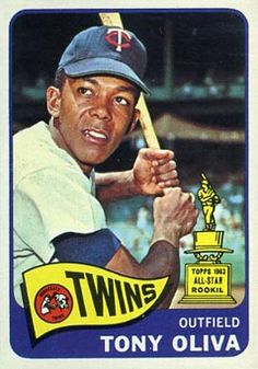 baseball cards 1965 oliva | 1965 set name 1965 topps card size 2 1 2 x 3 1 2 number of cards in ...