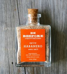 Habanero Sea Salt : Bespoke Salt Anthology
