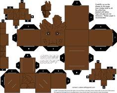 Groot Cubeecraft by JagaMen.deviantart.com on @DeviantArt