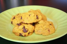 Halloween Vegan and Gluten Free Chocolate Chip Cookies