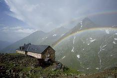 Nürnbergerhütte 2.297m Stubaier Alpen Pächter Familie Siller Leonhard und Martina